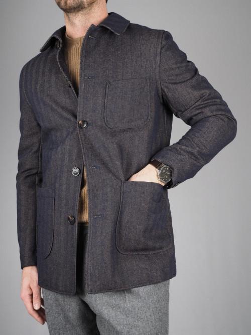 Lardini Herringbone Jacket