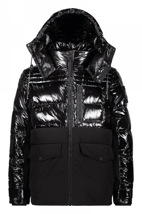 Moose Knuckles Black Dugald Jacket
