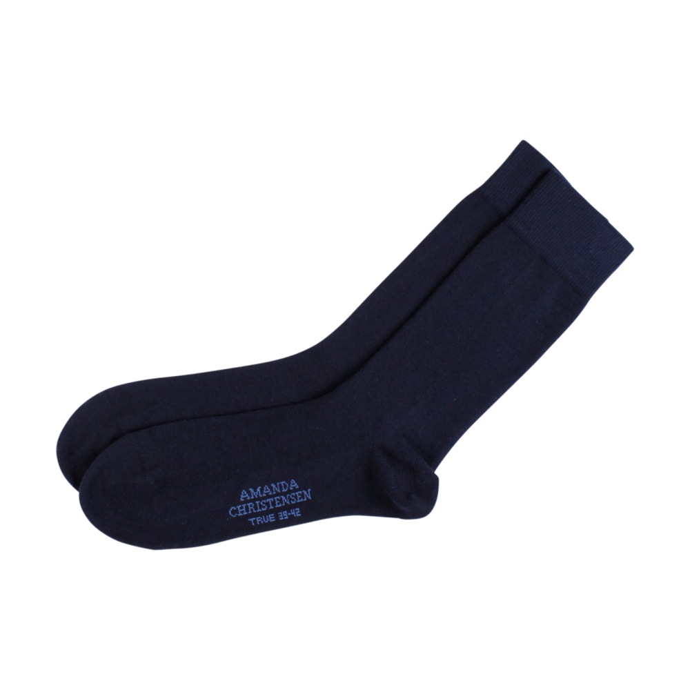Amanda Christensen Navy Sock