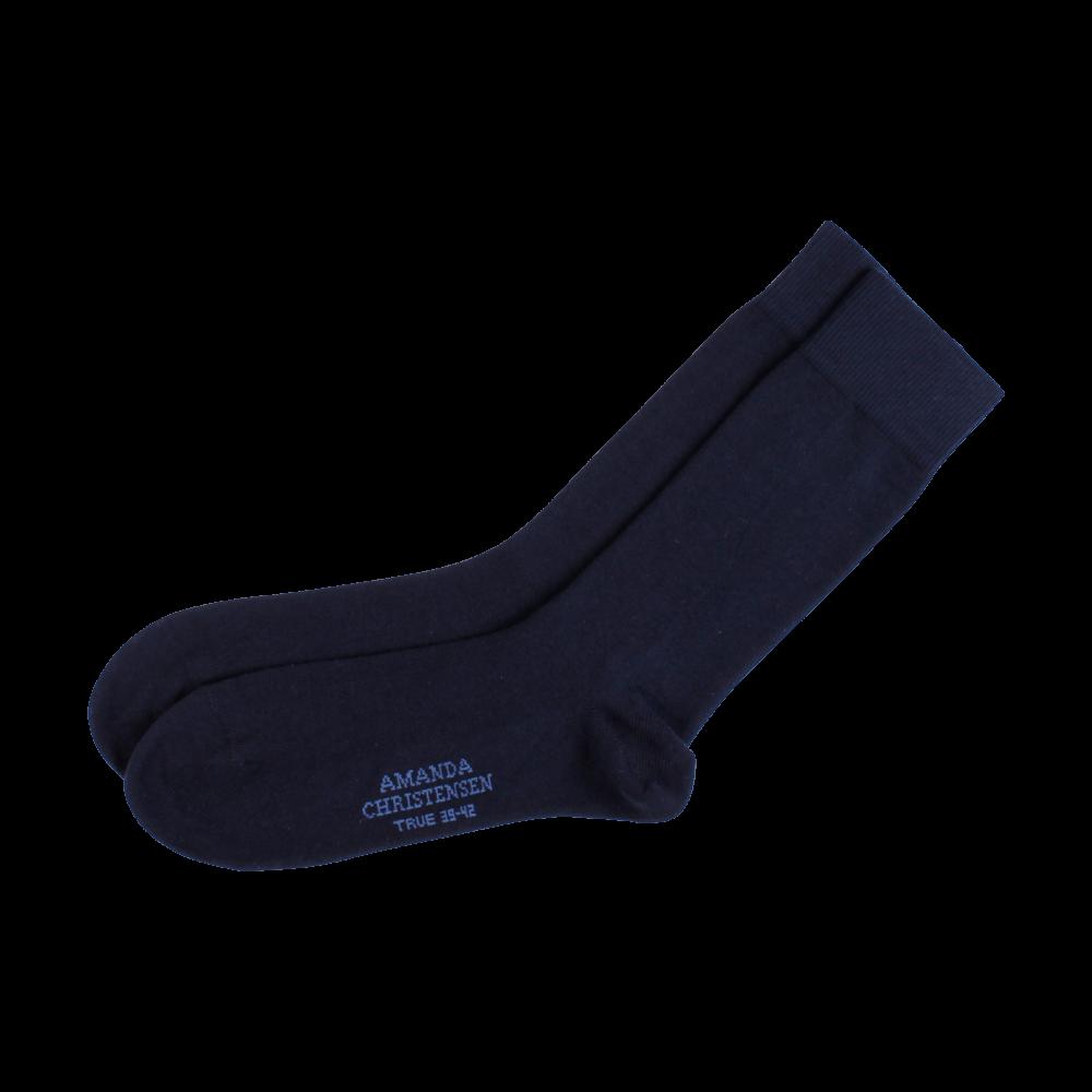 Amanda Christensen Navy Sock