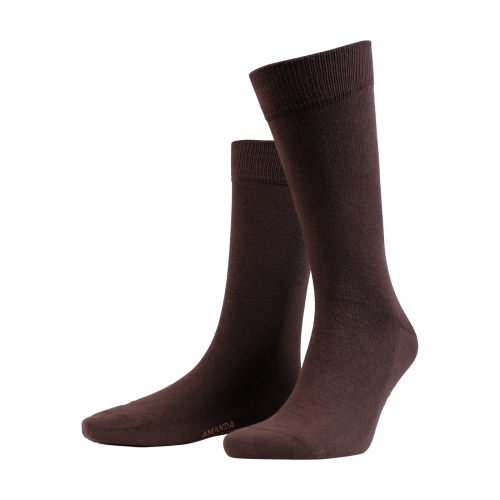 Amanda Christensen Dark Brown Sock