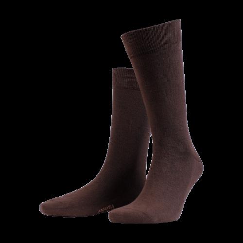 Amanda Christensen Dark Brown Sock
