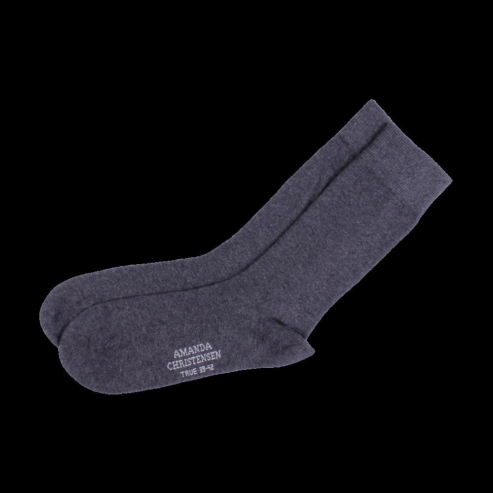 Amanda Christensen Dark Grey Sock