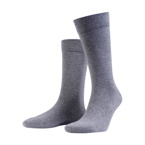 Amanda Christensen Grey melange sock
