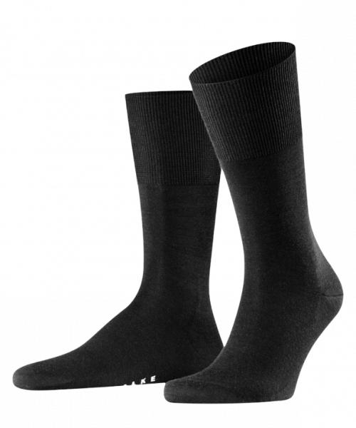 Falke Airport Black socks