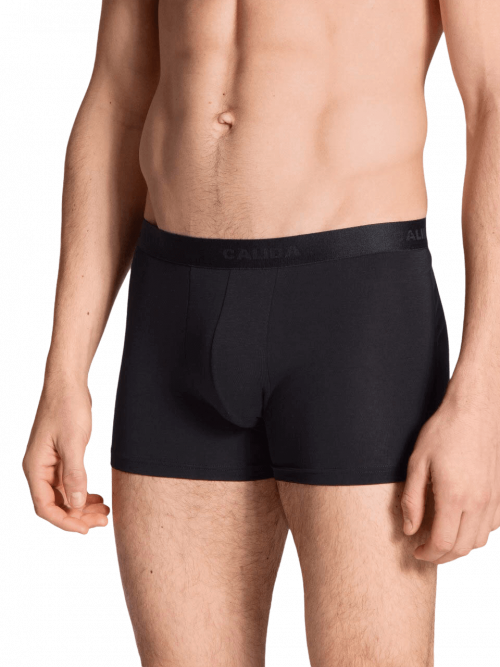 Calida Black Boxer Brief Natural Benefit 3 Pack