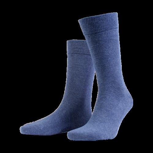 Amanda Christensen True Ankle Sock Denim Blue
