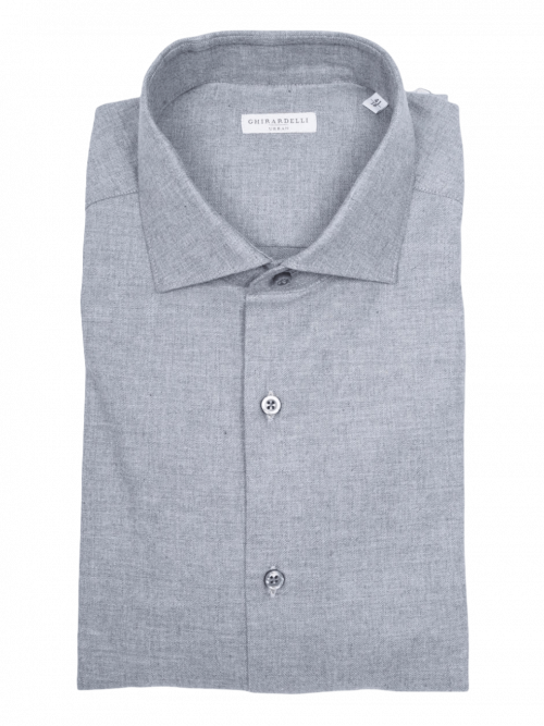 Ghirardelli Grey Shirt
